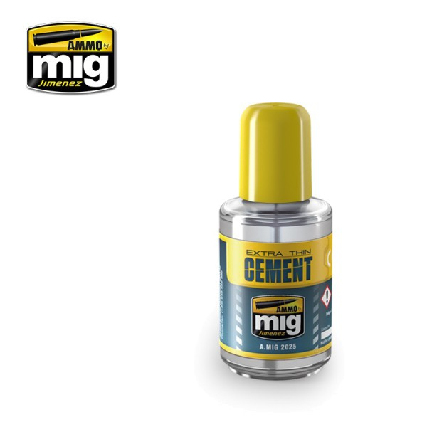 Extra Thin Cement, 30 mL