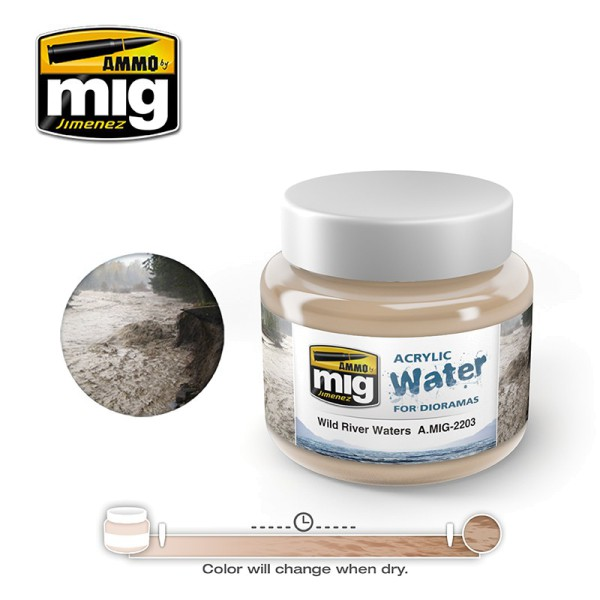 Acrylic Water - Wild River Waters