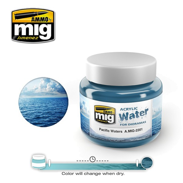 Acrylic Water - Pacific Waters